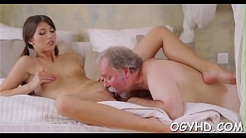 Petite Youthful Vixen Rides Old Ding-dong