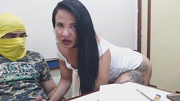 Teste do ator com Bianca Naldy #01 com novinho baiano será que aguentou ?