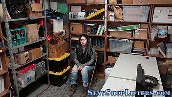 Shoplifting teen rides 8 min