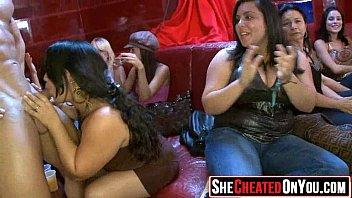 25 Slutty girls sucking cock at sex party12