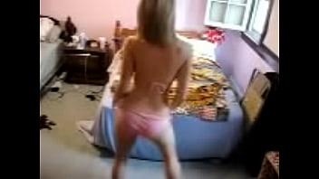 HOT dance sexy blonde babe صورة