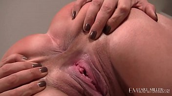 Busty Redhead Ashley Graham Dildo Drills Her Shaved Pussy!