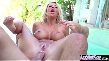 Slut Naughty Oiled Girl (Courtney Taylor) With Big Round Butts Love Anal Sex movie-25