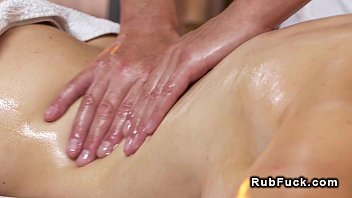 Pierced cunt beauty bangs after massage 7 min