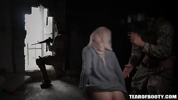 Arab slut fucked by American soldier thumbnail