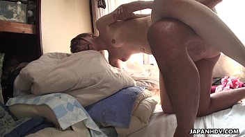 Skinny ass Asian bitch getting doggystyle hammered Image