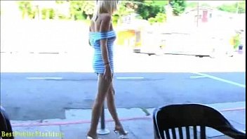 Rylie Richman Mini-skirt flashing babe