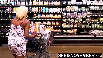 Out Of Desperation I Exchange Sex For Food A Public Sex, Msnovember Must Fuck Doggystyle In Walmart Walkway, Nailed In Her Ebony Pussy on Sheisnovember thumbnail