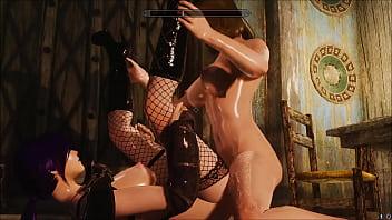 futa home sex for Lydia skyrim mod thumbnail
