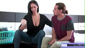 Hardcore Sex Tape With Horny Big Boobs Hot Wife (Isis Love) movie-11