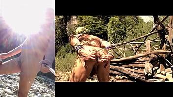 Nudist Benar-benar Disinhibited