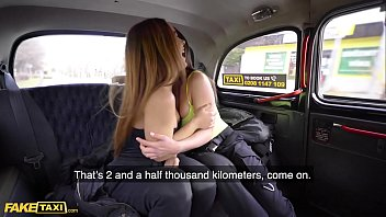 Fake Taxi Cheeky Spanish Lesbians Anastasia & Ginebra in Backseat Threesome