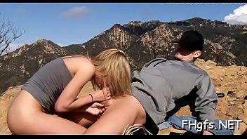 Penis rams kinky blonde Jas's putz today