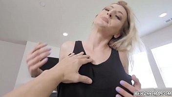 Lucky stepson gets a blowjob from MILF Natasha Starr
