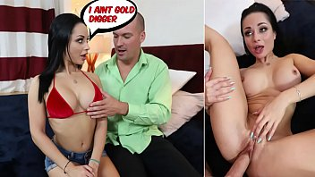 Wife crystal in bikini - Crystal rush in gold digger gets a creampie