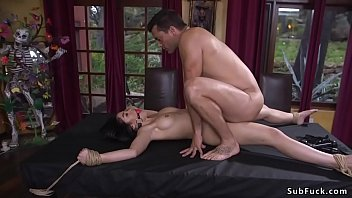 Asian whipped and anal fucked in bdsm porno izle