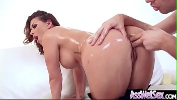 (Eva Angelina) Sexy Girl With Oiled Huge Butt Love Deep Anal clip-12 preview image