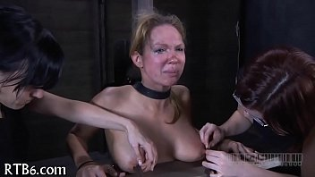 Irritated painful nipples after breast surgery - Ravishing castigation for lusty babe