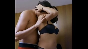 Indian couple Passionate kissing
