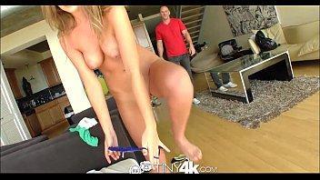 4K HD - Tiny4K Petite Alexis Adams hops on big cock