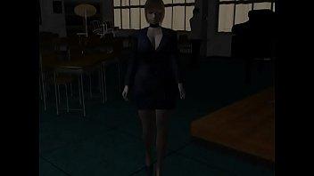 Umemaro 3D - Lewd bomb bust female teacher - 60FPS 15 min