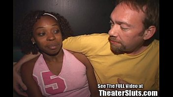 Rat fuck stew - Ebony nina gets an anal creampie w/full facial in a public tampa porn theater