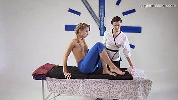 Virgin pussy massage for Rita Mochalkina