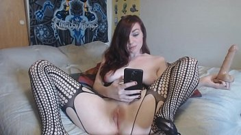 "6172 Watch me take dirty selfies of fucking myself with a 7"" dildo preview"