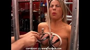Tortured big tits