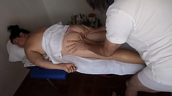 Relax massage with handjob and happy ending 9 min