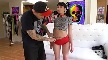 Cute teen Daphne Dare gets smashed hard by Bryan Gozzling