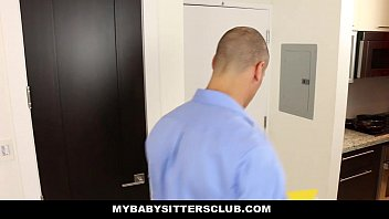 MyBabySittersClub - Young Babysitter (Monica) Fucked or Fired 10 min