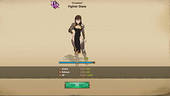 """7 Deadly Sins Grand Cross - Green """"Creation"""" Fighter Diane Level Up Landscape Mode Animation"""
