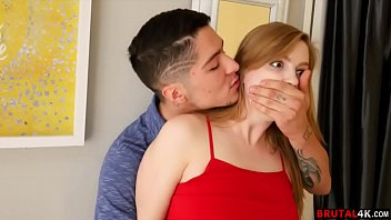 Connor caught his stepsister sneaking in through the window after a night out - FULL SCENE on http://Brutal4K.com