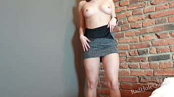 Nice Dress didn't Save from Ass Fucking - I Swallow Delicious Cum