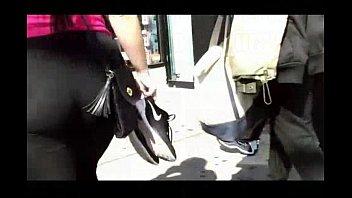 Big Culo Latina Vpl Thin Leggings
