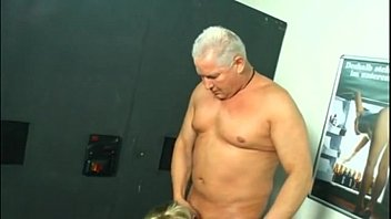 German Blonde Mom With Glasses Getting Fucked