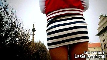 Sex tourists fuck Czech college girls in Prague. 10 min