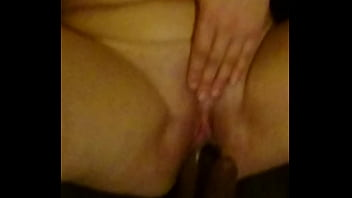 riding my dildo squirting orgasm, together masturbating and cumming on me