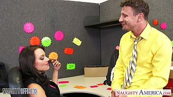 Brunette Kayla West Take Cock In The Office