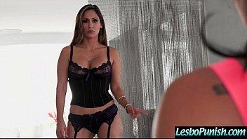 Punish Sex With Dildos Used By Lesbian Girls (Reena Sky & Morgan Lee) vid-27