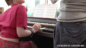 The Music Teacher As Well As Teaching How To Play The Piano To The Young Girl Student Also Teaches Her To Take It In The Ass