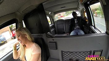 Female Fake Taxi The Lady Loves Big Black Cock