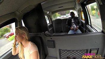 Female Fake Taxi The lady loves big black cock thumbnail
