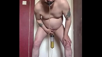 Real bisexual tube - Mark wright still a real cock virgin will drink your piss threw his tube to get his assfucked as he stands there naked pissing in his tube