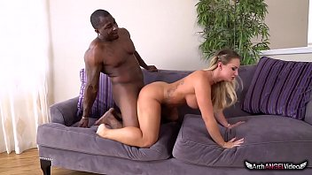 SUPER HOT CALI CARTER TAKES BBC AND SWALLOWS CUM