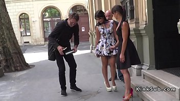 Hungarian slave first time naked in public porno izle