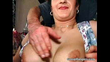 Old wet pussy enjoys in great mature