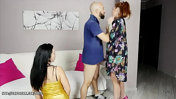 Isabel Dark & Foxy Sanie - Sub Wife Watch and Throat Fuck thumbnail