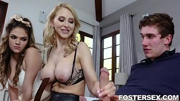 Foster Siblings Compete For Attention In The Bedroom Athena Faris, Alix Lynx